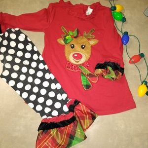 Other - Christmas outfit for girls 3t
